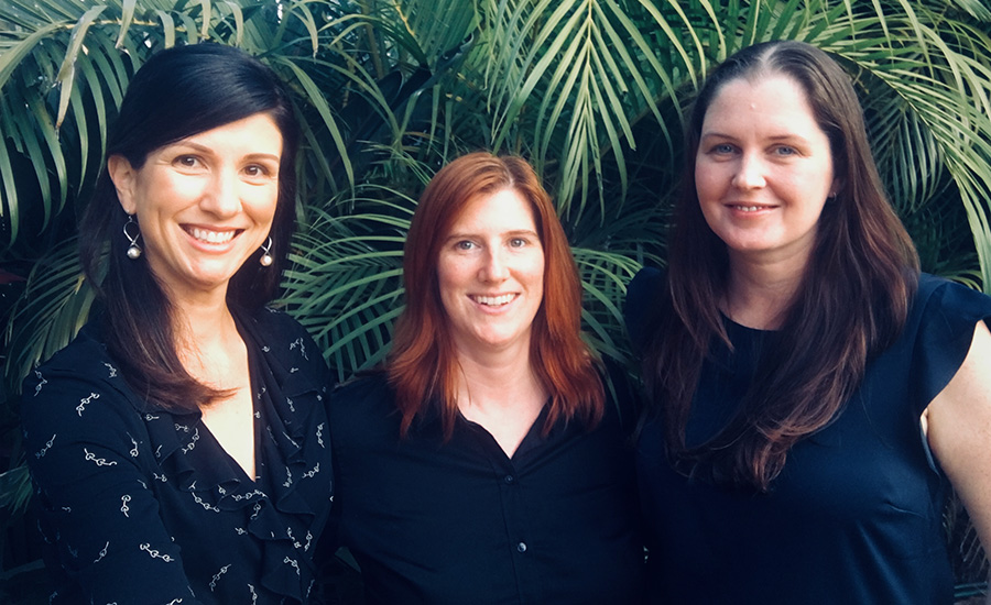 Brisbane Harmony Centre Psychologists – Ainsley Salsbury, Dr Catherine Hynes, Amanda Hansen